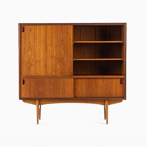 Belgian Bar Cabinet by Oswald Vermaercke for V-Form, 1950s