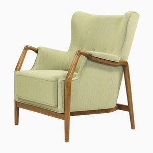 Mid-Century Architectural Lounge Chair by Kurt Olsen