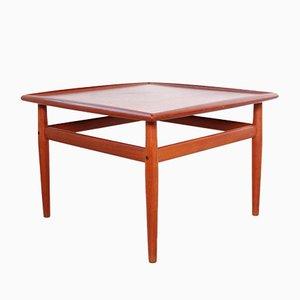 Teak Coffee Table by Grete Jalk for France & Søn / France & Daverkosen, 1960s