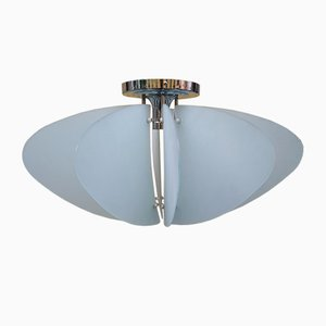 Modell Poetry Deckenlampe aus Glas von Angelo Mangiarotti für Quattrifolio 1964, 1990er