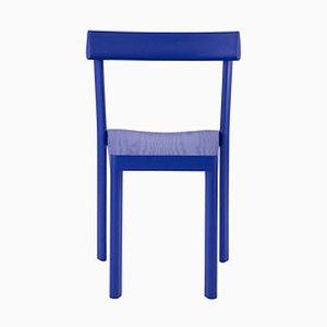 Sedia Galta in quercia blu di SCMP Design Office