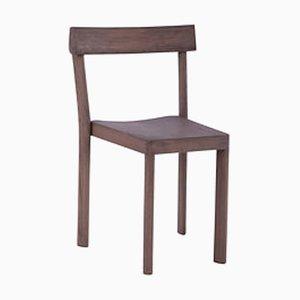 Galta Stuhl aus Nussholz von SCMP Design Office