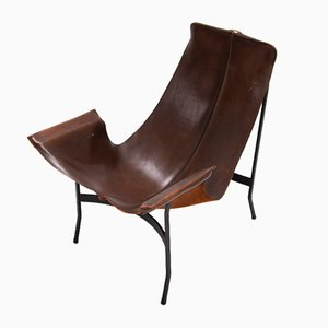 Mid-Century Lounge Chair by William Katavolos for Leathercrafters
