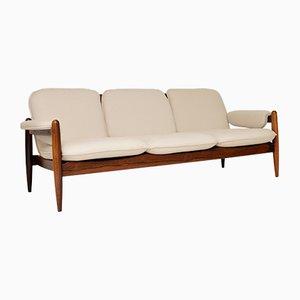 Dänisches Vintage Palisander Sofa, 1960er