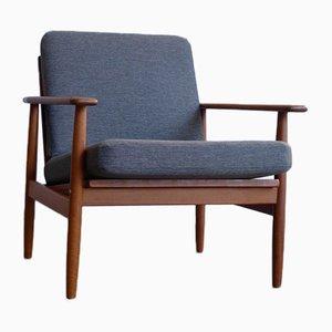 Vintage Danish Teak Armchair