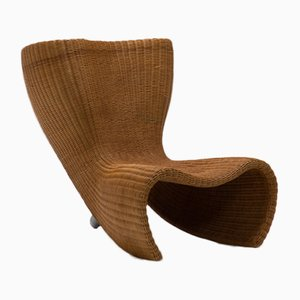 Wicker Lounge Chair by Marc Newson for Idee, 1990s