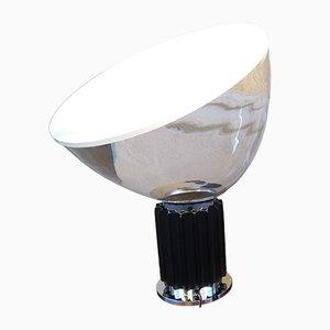 Grande Lampe de Bureau Modèle Taccia en Verre par Achille Castiglioni pour Flos, 1990s