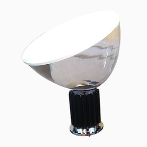 Large Glass Model Taccia Table Lamp by Achille Castiglioni for Flos, 1990s