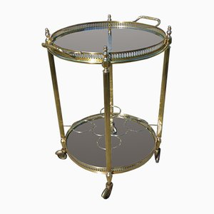 Neoclassical French Round Trolley, 1970s