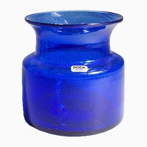 Hand-Blown Glass Bowl by Erik Höglund for Kosta, 1960s