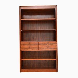 Vintage Danish Rosewood Bookcase, 1960s