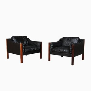 Rosewood Lounge Chairs by Erik Ole Jørgensen, 1960s, Set of 2
