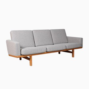 Vintage 3-Seat Sofa by Hans J. Wegner for Getama