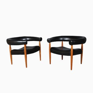 Armchairs by Nanna and Jørgen Ditzel, 1960s, Set of 2