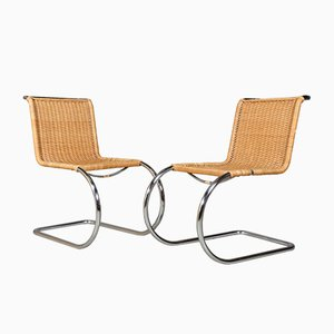 MR10 Side Chairs by Ludwig Mies van der Rohe, 1960s, Set of 2