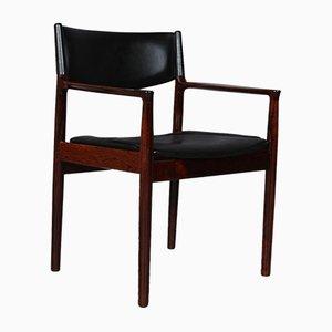 Rosewood Armchair by Erik Wørts, 1960s