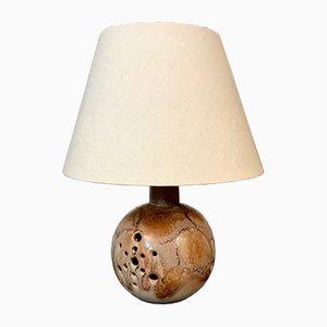 Deutsche Keramik Tischlampe von Hustadt Leuchten, 1960er