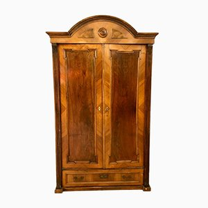 Antique Italian Walnut Cabinet, 1800s