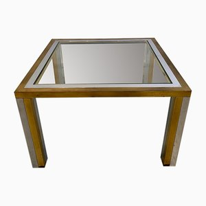 Vintage Coffee Table in the Style of Maison Jansen, 1970s
