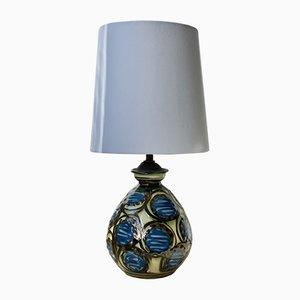 Lámpara de mesa de cerámica de Herman Kähler, años 10