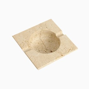 Travertine Ashtray from Fratelli Mannelli, 1970s