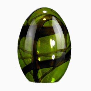 Kleine Grüne Egg Skulptur von VGnewtrend
