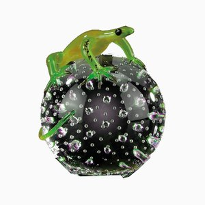 Sphere Sculpture with Green Gecko from VGnewtrend