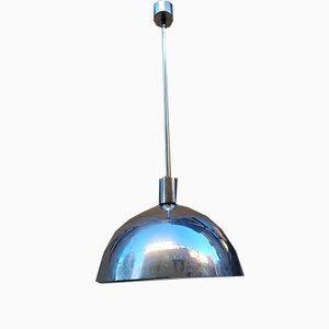 Aluminium AM/AS Ceiling Lamp by Franco Albini for Sirrah, 1960s