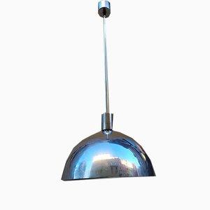 Aluminium AM / AS Deckenlampe von Franco Albini für Sirrah, 1960er