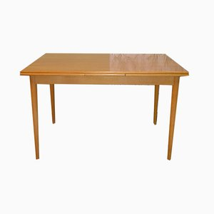 Mid-Century Extendable Maple Dining Table, 1960s