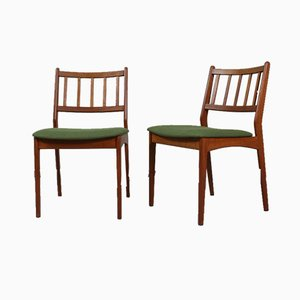 Vintage Danish Dining Chairs, 1960s, Set of 8