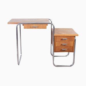 Bauhaus Modell B91 Schreibtisch von Marcel Breuer für Thonet, 1930er