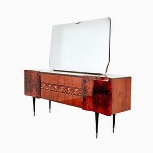 Vintage Italian Sideboard with Mirror, 1970s
