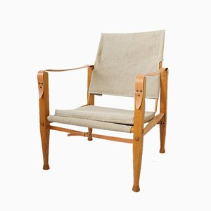 Safari Chairs by Kaare Klint for Rud. Rasmussen, 1940s, Set of 2