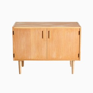 Danish Vintage Oak Cabinet, 1960s