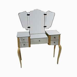 Louis XV Style Beech Dressing Table, 1950s