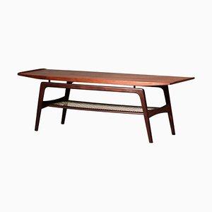 Danish Teak Coffee Table by Arne Hovmand-Olsen, 1960s