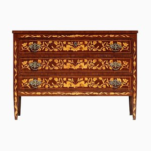 Italian Marquetry Chest of Drawers, 1930s