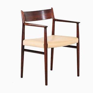 Skandinavischer Palisander Armlehnstuhl von Arne Vodder für Sibast, 1960er