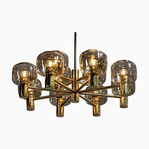 Swedish Chandelier in the Style of Hans-Agne Jakobsson, 1970s