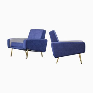 French Armchairs by Pierre Guariche for Airborne, 1950s, Set of 2