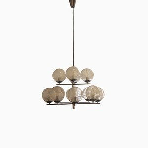 Mid-Century 12-Light Ceiling Lamp, 1960s