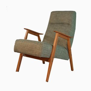 Vintage Lounge Chairs from Interier Praha, 1960s, Set of 2