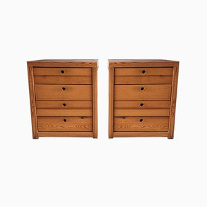 Mid-Century Chest of Drawers by Ate van Apeldoornn for Houtwerk Hattem, Set of 2