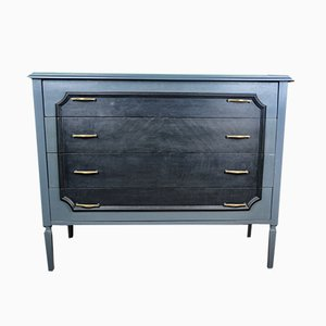 Painted Blue & Grey Dresser, 1960s