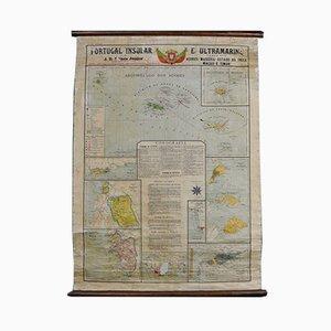 Carte du Portugal et d'outre-mer, 1960s