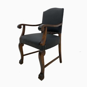 Antique Neo-Renaissance Armchair