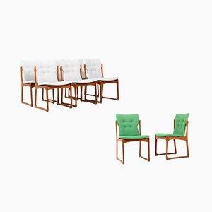 Dänische Teak Esszimmerstühle von Vamdrup, 1960er, 8er Set