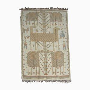 Türkischer Vintage Kilim Karapinar Teppich, 1960er