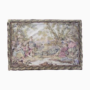 Vintage French Aubusson Tapestry, 1930s